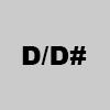 6. D/D#