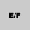 7. E/F